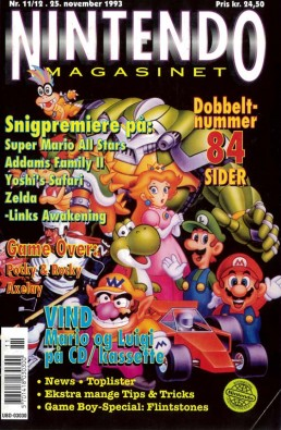 Nintendo Magasinet nr. 11-12, 1993