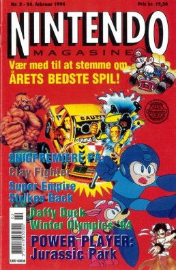 Nintendo Magasinet nr. 2, 1994