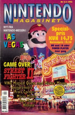 Nintendo Magasinet nr. 3-4, 1993