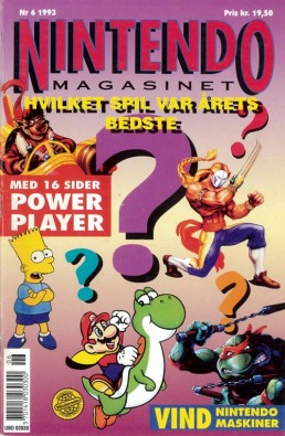 Nintendo Magasinet nr. 6, 1993
