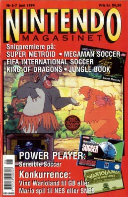 Nintendo Magasinet nr. 6-7, 1994