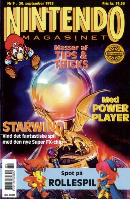 Nintendo Magasinet nr. 9, 1993