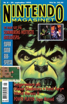 Nintendo Magasinet nr. 9, 1994