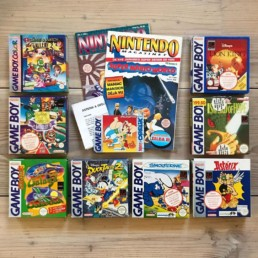 Game Boy lot from Vintage Games, Ballerup