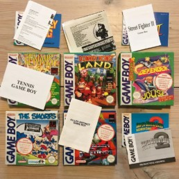 Game Boy lot, The Smurfs SCN