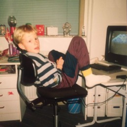 Me and my Commodore 64