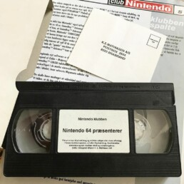 VHS with Nintendo 64 previews