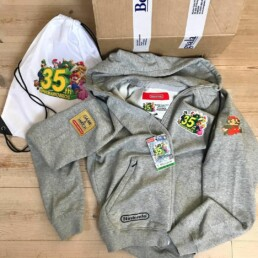 2020 Limited Edition 'Super Mario 35th Edition' hoodie byBergsala